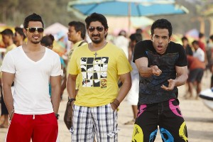 Golmaal-3, Kunal Khemu, Tusshar Kapoor, Arshad Warsi