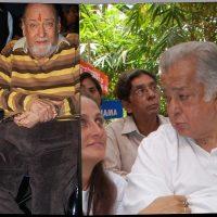 Shammi Kapoor and Shashi Kapoor in Hospital
