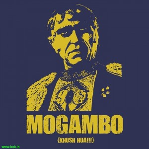 Salman Khan as Mogambo`